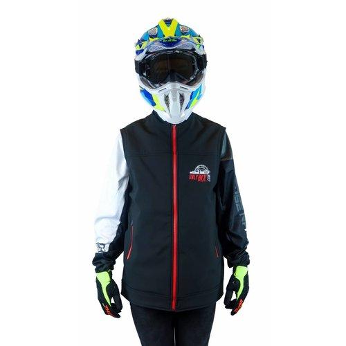 "MCU Enduro Jacket ""OnlyMX"" Red/Black"