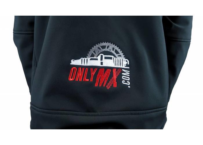 "MCU Enduro Jas ""OnlyMX"" Rood/Zwart"