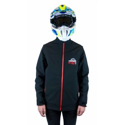 "Enduro Jacket ""OnlyMX"" Red/Black"