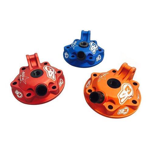 S3 Parts Cilinderkop & inserts Kit Aluminium Blauw Husaberg/Husqvarna 300 09-16