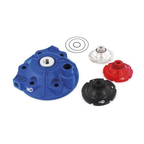 S3 Parts Cilinderkop & inserts Kit Aluminium Blauw Husqvarna TE250 17-18