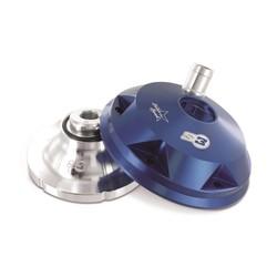 Cilinderkop & inserts Kit Aluminium Blauw Sherco/Scorpa
