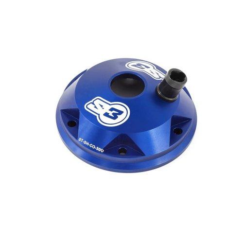 S3 Parts Cilinderkop & inserts Kit Aluminium Blauw Sherco/Scorpa