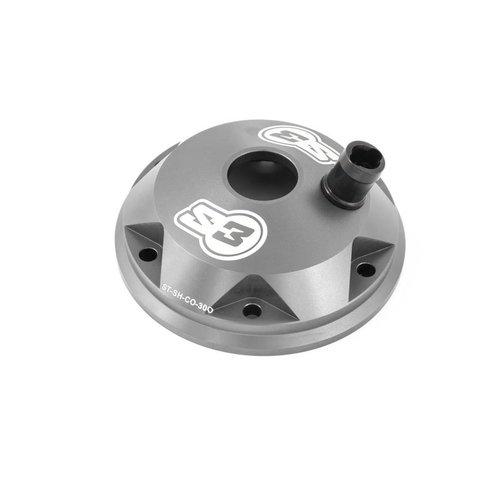 S3 Parts Cilinderkop & inserts Kit Aluminium Titanium Sherco/Scorpa 125