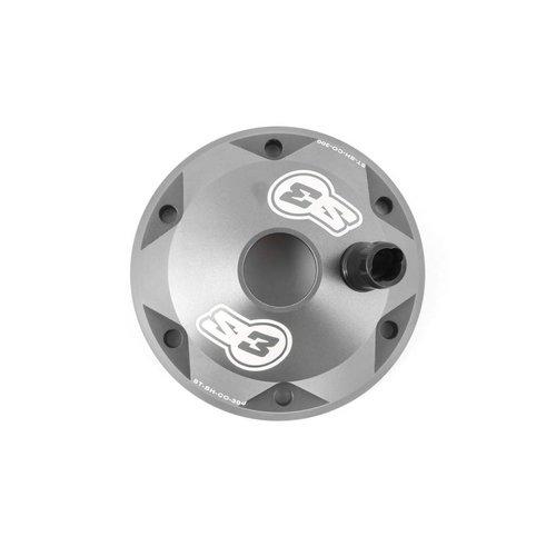 S3 Parts Head Cylinder Head & Insert Kit Aluminium Titanium Sherco/Scorpa 125
