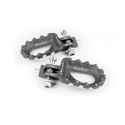 S3 Parts Hard Rock Footrests Aluminium Black