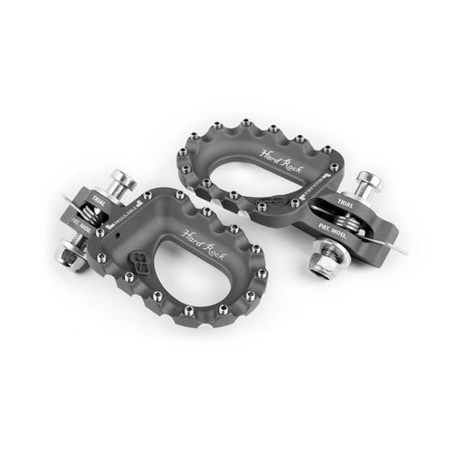 S3 Parts S3 Hard Rock Voetsteunen Aluminium Titaan