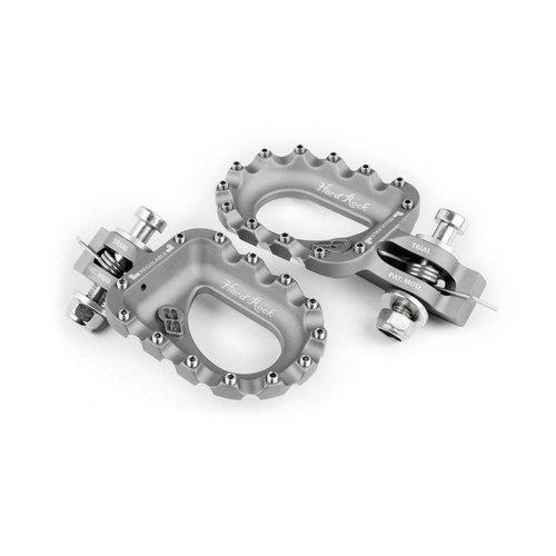 S3 Parts S3 Hard Rock Voetsteunen Aluminium Zilver