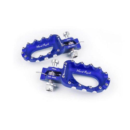 S3 Parts S3 Hard Rock Footrests Aluminium Blue