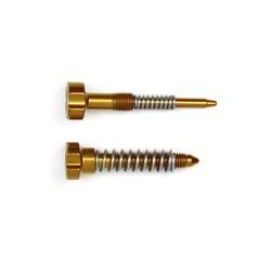 S3 Carburetor Adjuster Screws Idle + Air + Springs Gold