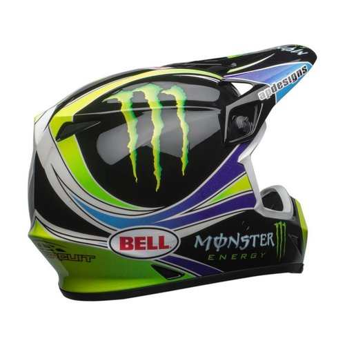 Bell MX-9 MIPS Helmet Pro Circuit Replica 18.0 Gloss