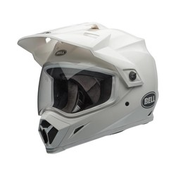 MX-9 Adventure MIPS Helm Gloss Weiß