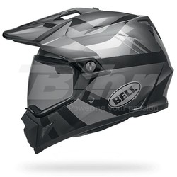 MX-9 Adventure MIPS Helm Stealth Mat Zwart Camo