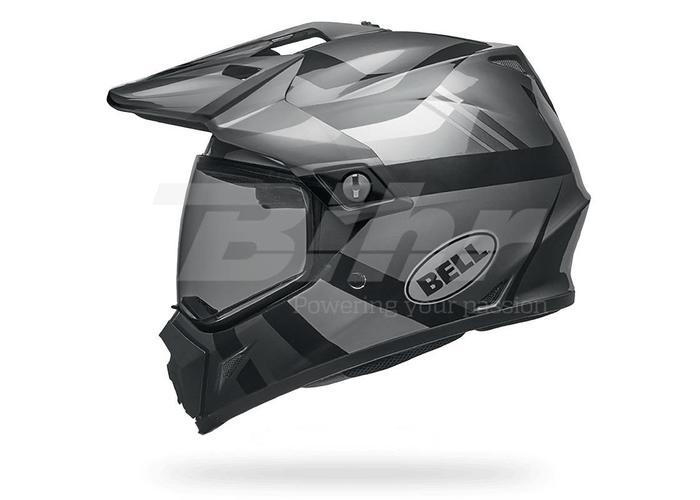 Bell MX-9 Adventure MIPS Helm Stealth Mat Zwart Camo