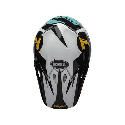 Bell MX-9 MIPS Helm Seven Ignite Aqua / Zwart