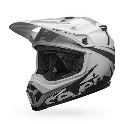 Bell MX-9 MIPS Helmet Seven Ignite Matte White