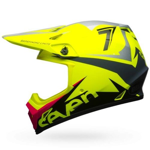 Bell MX-9 MIPS Helmet Seven Ignite Neon Yellow