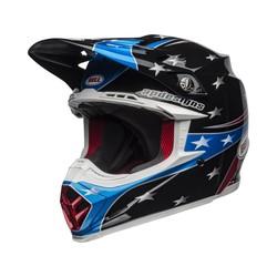 Moto-9 MIPS Helm Tomac Replica 19 Eagle Glanzend Zwart / Groen