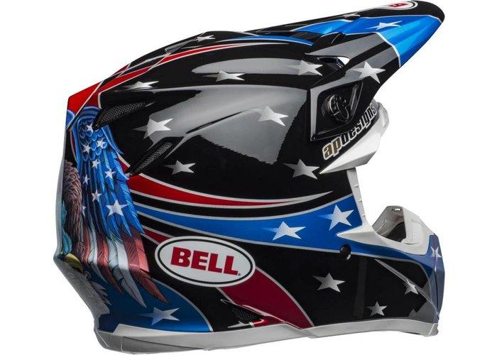 Bell Moto-9 MIPS Helm Tomac Replica 19 Eagle Glanzend Zwart / Groen