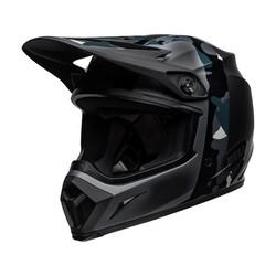 MX-9 MIPS Helm Presence Mat / Glanzend Zwart Titanium Camo