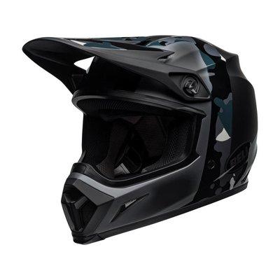 Bell MX-9 MIPS Helm Presence Matte / Gloss Black Titanium Camo