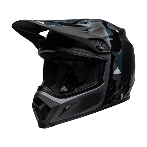 Bell MX-9 MIPS Helm Presence Mat / Glanzend Zwart Titanium Camo