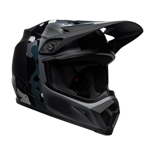 Bell MX-9 MIPS Helmet Presence Matte/ Gloss Black Titanium Camo