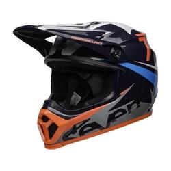 MX-9 MIPS Helm Seven Ignite Glanzend Marine blauw / Koraal