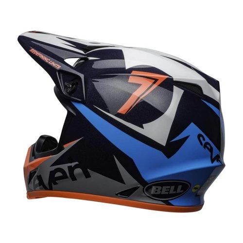 Bell MX-9 MIPS Helmet Seven Ignite Gloss Navy/Coral