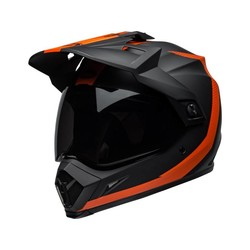 MX-9 Adventure MIPS Helm Switchback Mattschwarz / Orange