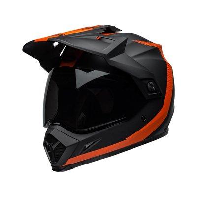 Bell MX-9 Adventure MIPS Helm Switchback Mattschwarz / Orange