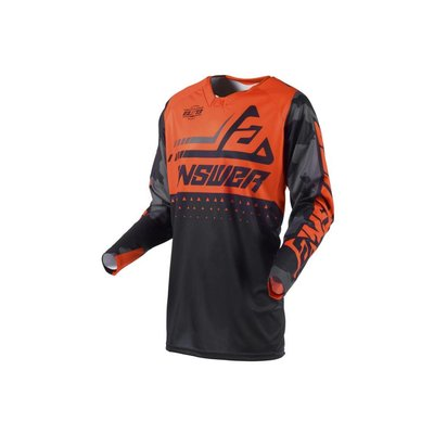 Answer Elite Discord Jersey Black/Orange