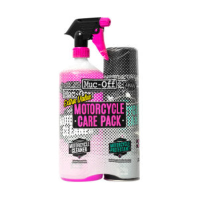 Muc-Off Motorcycle care Duo-kit