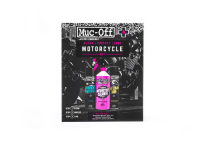 Muc-Off Clean, protect and lube kit