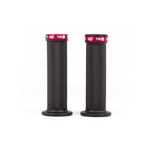 S3 Parts Trifix Grips Full Diamond red