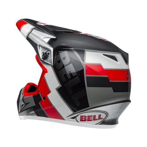 Bell MX-9 MIPS Helmet Twitch Replica Matte Black/Red/White