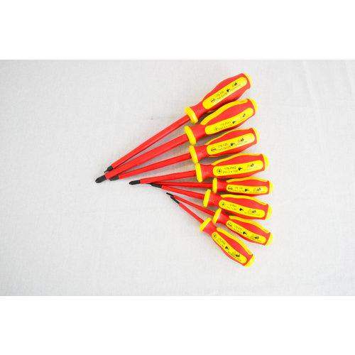 Turnus screwdriver set 8-pieces