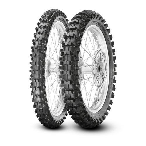 Pirelli Pirelli Scorpion MX32 Mid Soft 90/100 -14 TT 49 M rear 90/100 -14 TT 49 M rear