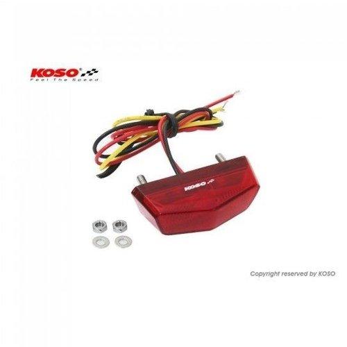 KOSO LED-achterlicht Nano (rood)
