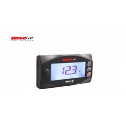 Volt & Clock Mini 3 (met achtergrondverlichting)