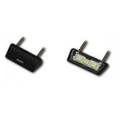 LED Kennzeichenbeleuchtung, Drop (schwarz)