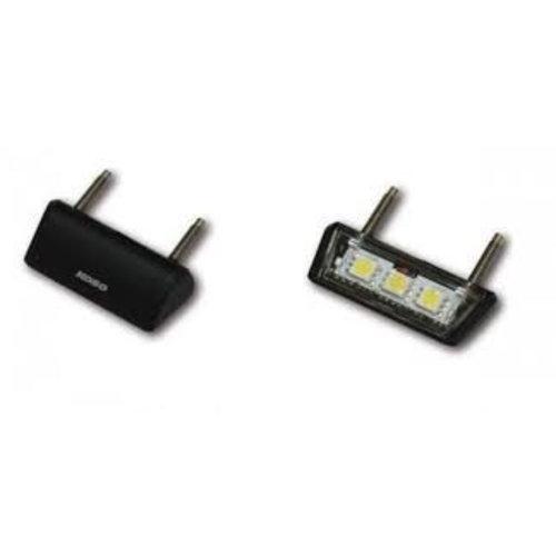 KOSO LED kentekenplaatverlichting, Drop (zwart)
