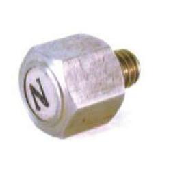 Magnetscrew (2x) M6 x 1.0 x 16.5 mm