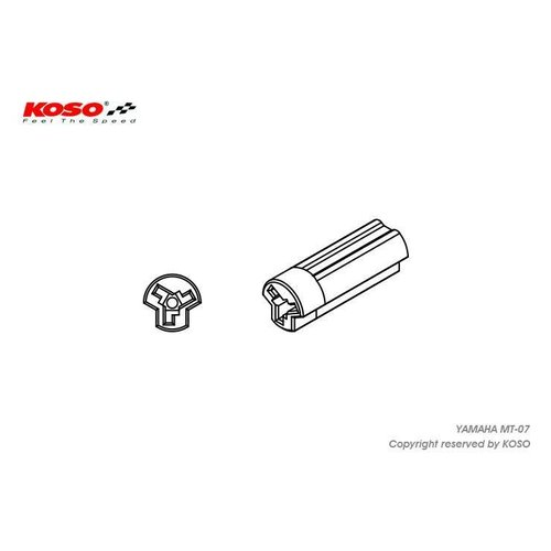 KOSO Indicator Aanpassingsdraad voor Yamaha MT-09