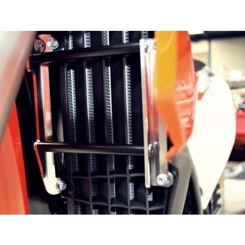 AXP Radiator bescherming CRF250R '18-19 Black