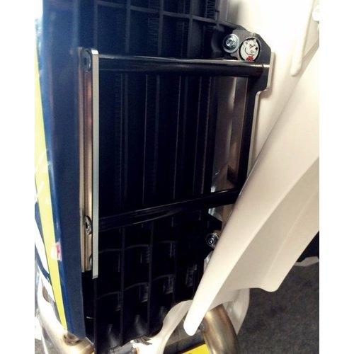 AXP Radiator bescherming KXF250 '10 ZWARTE SPACERS