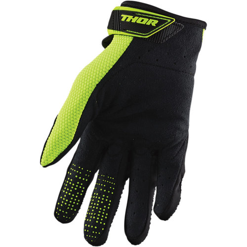 Thor Spectrum Glove S20 Black/Acid