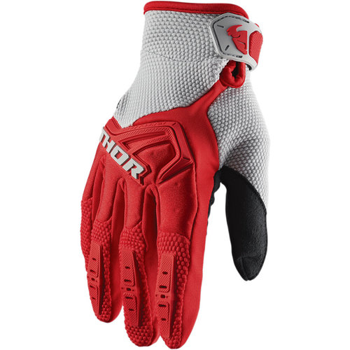 Thor Spectrum Glove S20 Red/Grey