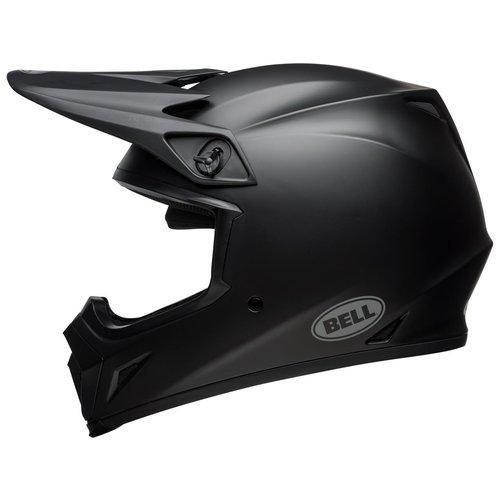 Bell MX-9 MIPS Helm Matt Schwarz