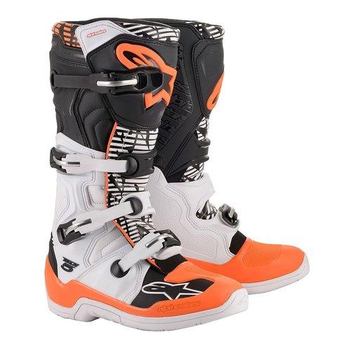 Alpinestars Tech5 White/Orange/Black 2020